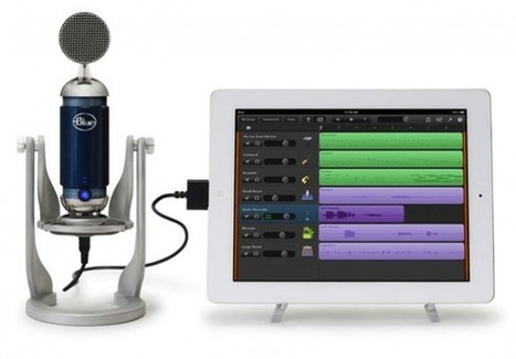 Blue Microphones launches world's first condenser microphone for iPad | Tech | Scoop.it