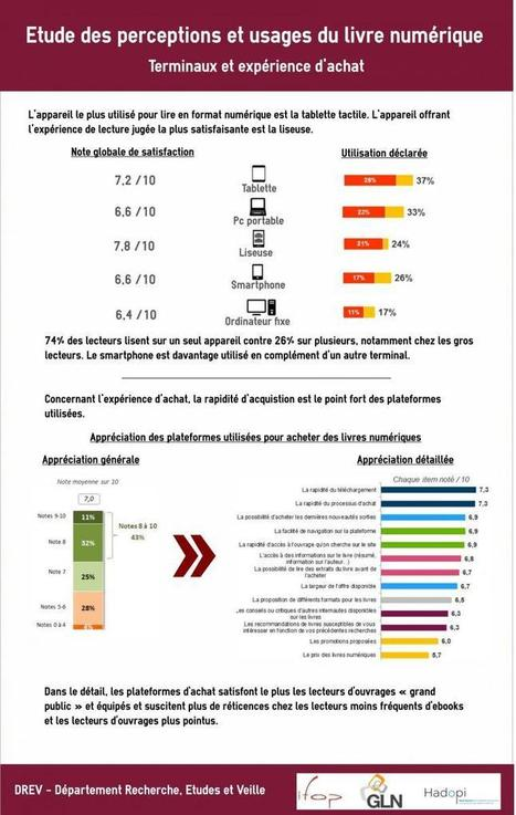 Etude des perceptions et usages du livre numérique | Hadopi | Conseil et communication éditoriale, stratégie et gestion des contenus | Scoop.it