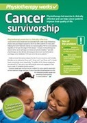 Physiotherapy works: cancer survivorship | physiotherapy | Scoop.it