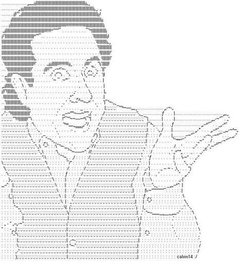 Tweet from @DakeryAttack | ASCII Art | Scoop.it