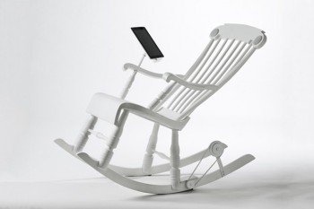 Power-Generating Rocking Chair Charges Your iPad | 21st Century Craft & Pride | Scoop.it