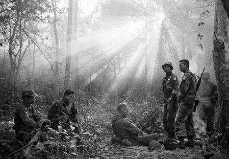 Iconic and Unseen War Photos From Vietnam and Iraq | Mother Jones | histgeoblog | Scoop.it