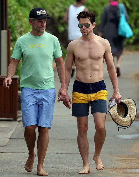 Matt Bomer with Husband Spotted at Hawaii Beach | Celebrity Hunks | Scoop.it