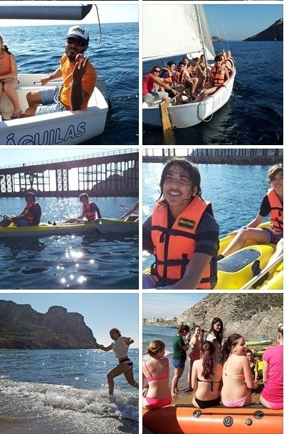 Swedish Students  learning sailing, kayak at Águilas | Águilas - Costa Cálida Region of Murcia - Spain | Scoop.it