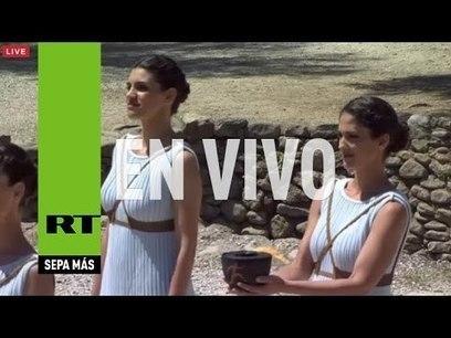 Ceremonia de encendido de la antorcha olímpica en Grecia | Griego clásico | Scoop.it