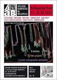 My beautiful pixel   Exposition aux AAB   Ateliers d'Artistes de Belleville   Expositions d'art moderne   Scoop.it
