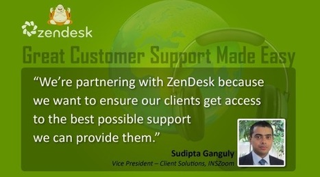 INSZoom partners with ZenDesk to offer superior customer support   Immigration Blog - Latest Immigration & I9 compliance News : INSZoom   Immigration   Scoop.it