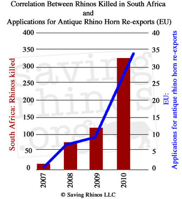 Disturbing Connection Between Antique Rhino Horn 'Activity' and Rhino Killings in South Africa | Rhino Horn is NOT Medicine | rhinos | What's Happening to Africa's Rhino? | Scoop.it