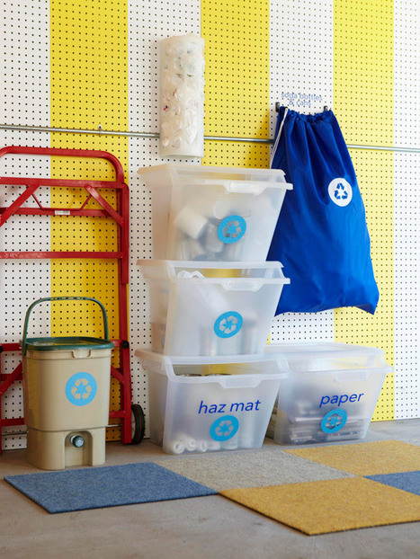 Creating A Featured Place for All Recycling | Home & Office Organization | Scoop.it