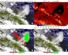 NASA Langley Advanced Satellite Aviation-Weather Products(ASAP) -- Research - Volcanic Ash | Volcanic Ash and its effects on planes | Scoop.it