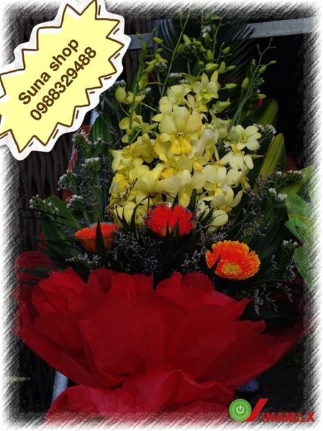 Bó hoa Lan tươi thắm món quà tặng thầy cô   Qùa tặng thầy cô 20-11   Scoop.it