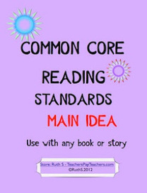 The Lesson Cloud: Common Core Reading Main Idea | Catherine's Scoops | Scoop.it