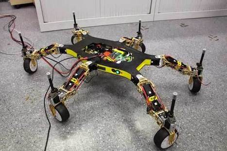 Creadapt: How to Make a Robot That Cannot Be Stopped | Robots in Higher Education | Scoop.it