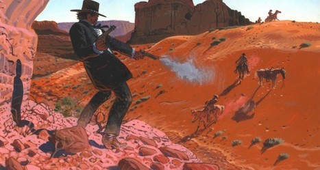 Sunset and sunrise on bleak horizons: the state of the revisionist western | Biblio | Scoop.it