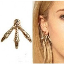 Vintage Punk Gold Eagle Claw Stud Earrings SP05118 | fashion and cheap jewelry | Scoop.it