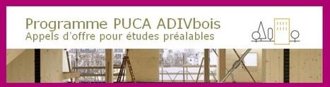 Programme PUCA ADIVbois - Etudes préalables | Codifab | CODIFAB | Scoop.it