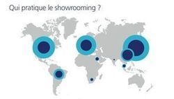 La carte du monde du showrooming | Social média -Digital -,CRM | Scoop.it