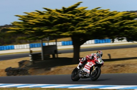 Ducati Superbike Team: Phillip Island Official Test, Results Positive | Ductalk Ducati News | Scoop.it