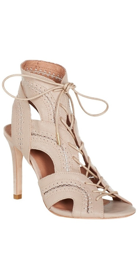 JOIE Remy Heels Pink Sand | High Heel Gladiator Sandals | beauty girl | Scoop.it