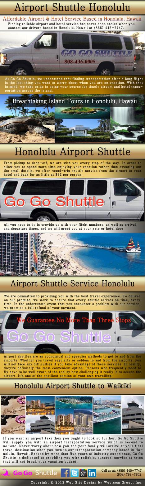 Airport Shuttle Honolulu | Airport Shuttle Honolulu | Scoop.it