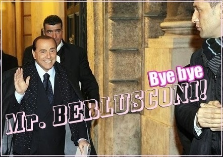 Bye bye Berlusconi! | GOSSIP, NEWS & SPORT! | Scoop.it