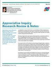 AI Practitioner May 2014 - Research Review & Notes | Art of Hosting | Scoop.it