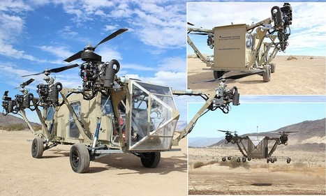 US Army look into remote controlled 'helicopter truck transformers' | Project - Thinking and Seeing Things Differently | Scoop.it