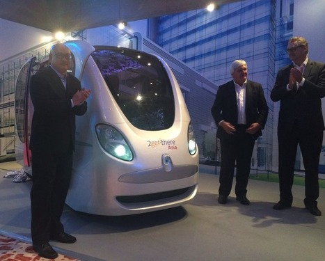 Driverless pods to race down Singapore's roads by the end of 2016 | ZDNet | Sustainable Real Estate | Scoop.it