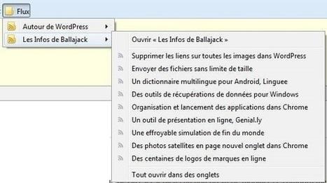 Utilisation des marques pages dynamiques dans Firefox | Informatique TPE | Scoop.it