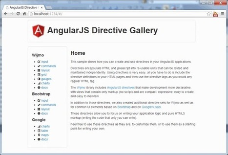 Extending HTML with AngularJS Directives | AngularJS | Scoop.it