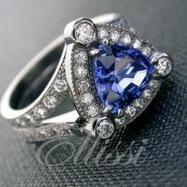 Art Deco Engagement Rings Designs by Ellissi | jewellery designers | Scoop.it