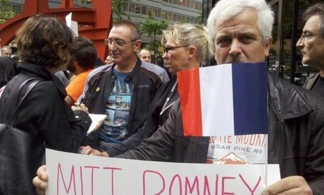 Manifestation franco-américaine contre Mitt Romney | Du bout du monde au coin de la rue | Scoop.it