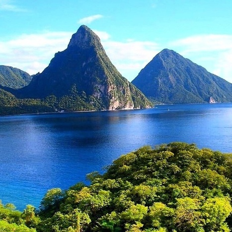 Good Monday Morning from the Majestic Pitons | Saint Lucia Tourism | Scoop.it
