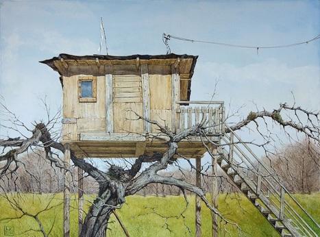 Lev Kaplan -Watercolor- | Artistes et créateurs d'aujourd'hui... | Scoop.it