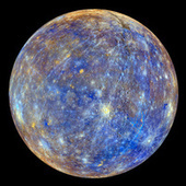 NASA unveils image of Mercury unlike any you've ever seen   Science is Cool!   Scoop.it