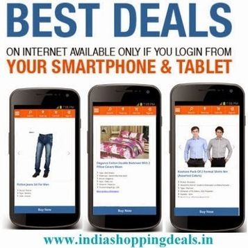 India Online Shopping Deals |Coupons and offers Sites | www.referguru.com | Scoop.it
