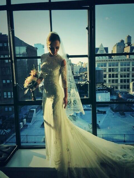 Christina Ricci's Wedding Dress -- See Her Gorgeous Gown | Bridal Fashions | Scoop.it