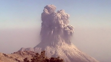 Colima 'fire volcano' eruption captured in timelapse   Geology   Scoop.it