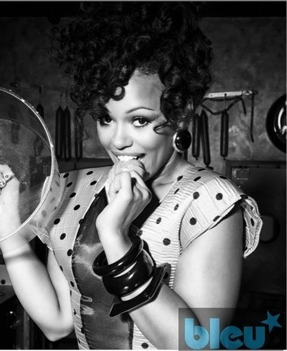 "Elle Varner CAUGHT IN THE COOKE JAR For ""BLEU"" Magazine, DISHES On Bullying And Getting ""WHITE HOUSE"" Approval 