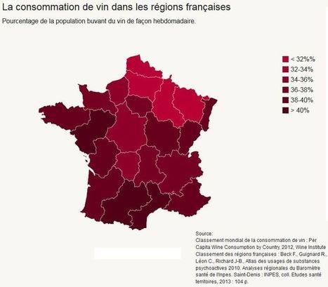 Quelle région française boit le plus de vin? - Le Figaro | Le vin quotidien | Scoop.it