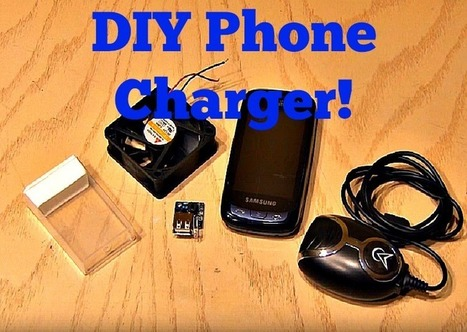 Charge your Cell Phone- from a Fan! | Aggeliki Nikolaou | Scoop.it