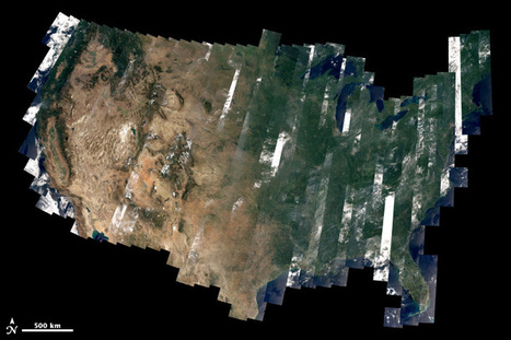 Landsat 8's First Year | Innovative mapping | Scoop.it