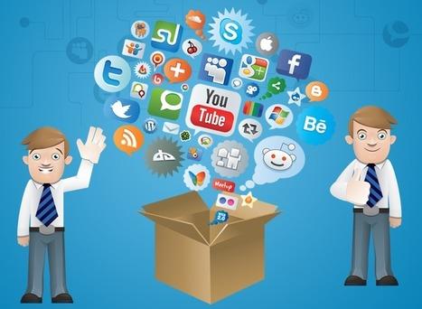 Using Social Media for B2B (INFOGRAPHIC) | B2B Social Selling | Scoop.it