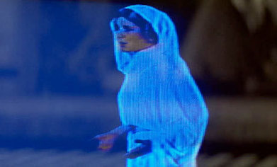 Princess Leia hologram could become reality | Systems Leadership | Scoop.it