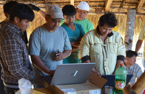 Amazon Tribes Want to Remain Isolated–So They're Getting the Internet - Atlas Obscura | Rainforest EXPLORER:  News & Notes | Scoop.it