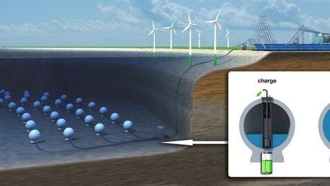 Et si on stockait les énergies renouvelables au fond des océans ? L'expérimentation a déjà commencé. | Veille Technologique | Scoop.it
