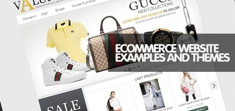 30 Free Responsive eCommerce Templates and Websites for your Inspirations | Magento | Scoop.it