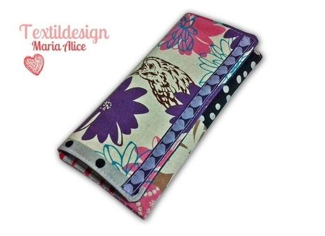 Brieftasche Geldbeutel Geldbörse Portemonnee | Maria Alice Textildesign | Scoop.it