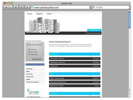 Alle Blicke auf: tutorialz.jimdo.com - Jimdo | Autoankauf | Scoop.it