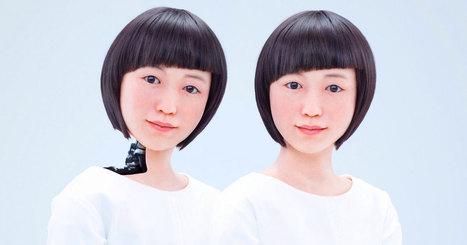 Ces deux Japonaises sont les androïdes les plus réalistes à ce jour… Leurs expressions faciales sont saisissantes ! | Remembering tomorrow | Scoop.it